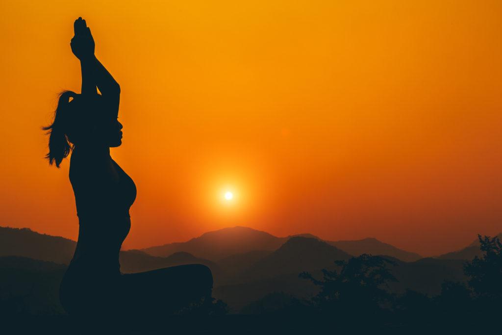 Shiatsu sunset